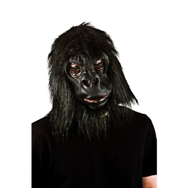 Adult Unisex Realistic Gorilla with Hair Hair for Disguise Fancy Dress
